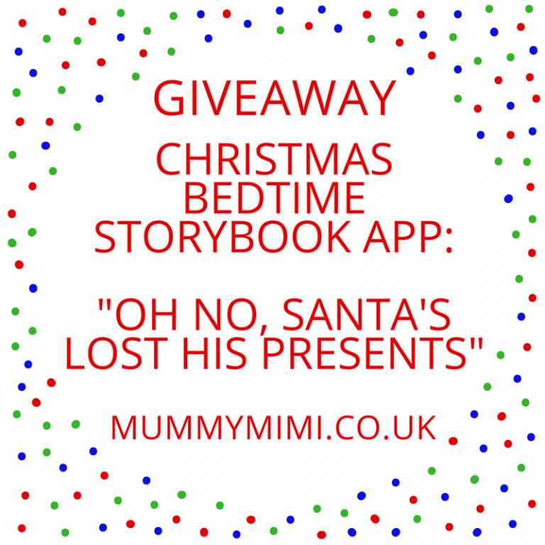 "Giveaway | Christmas Bedtime Storybook App: ""Oh No, Santa's Lost His Presents"" 