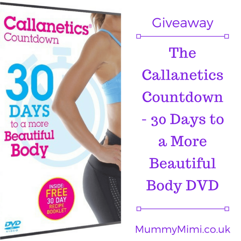 Giveaway | The Callanetics Countdown – 30 Days to a More Beautiful Body DVD | Mummy Mimi