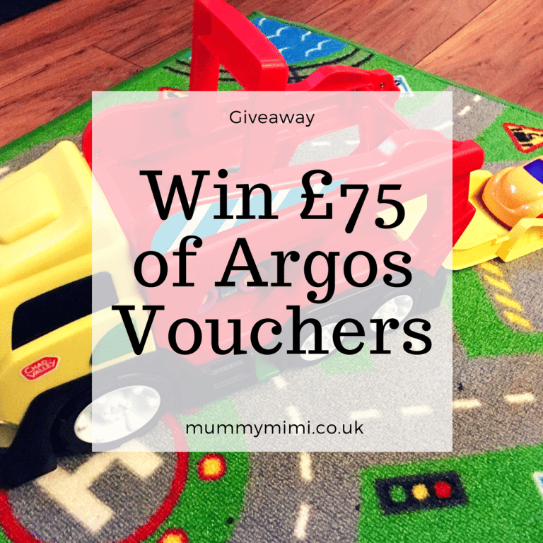 Giveaway | Win £75 of Argos Vouchers with Chad Valley & Mummy Mimi