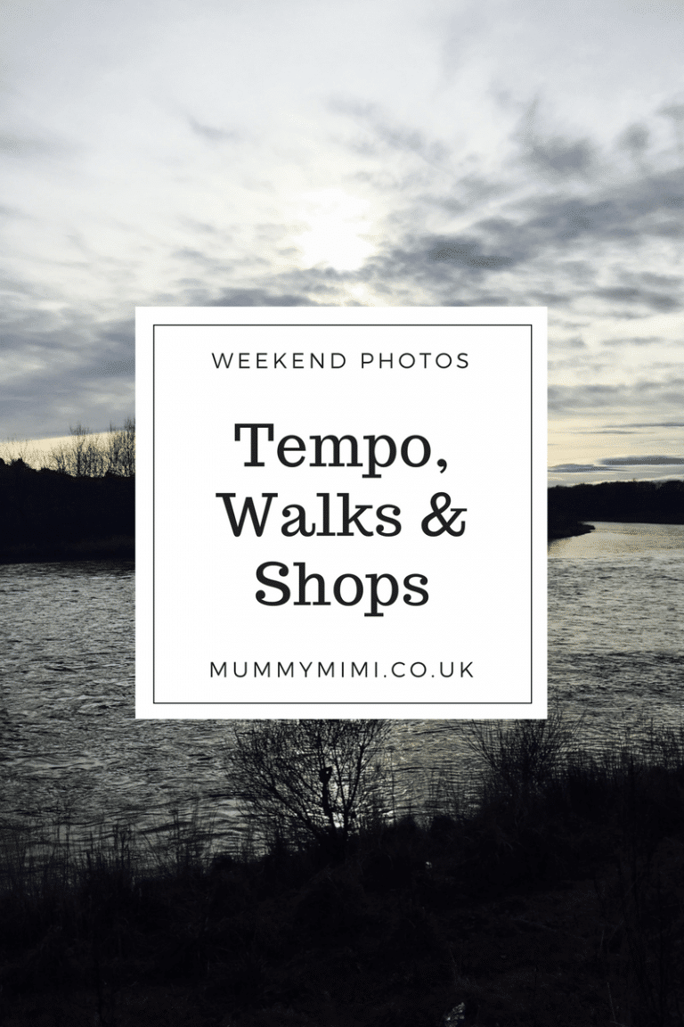 Weekend Photos | Tempo, Walks & Shops