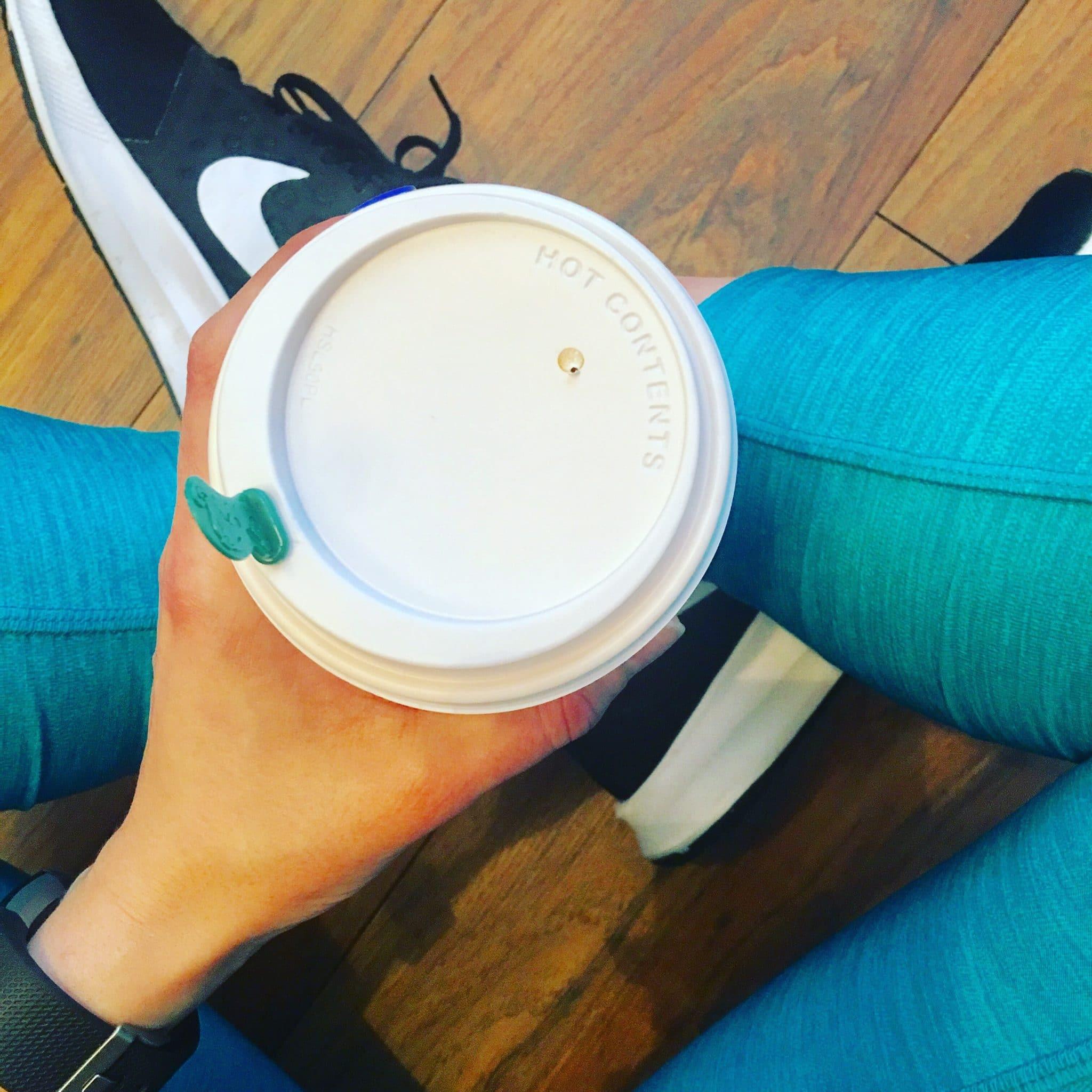 Weekend Photos | Coffee Gym Nike Starbucks