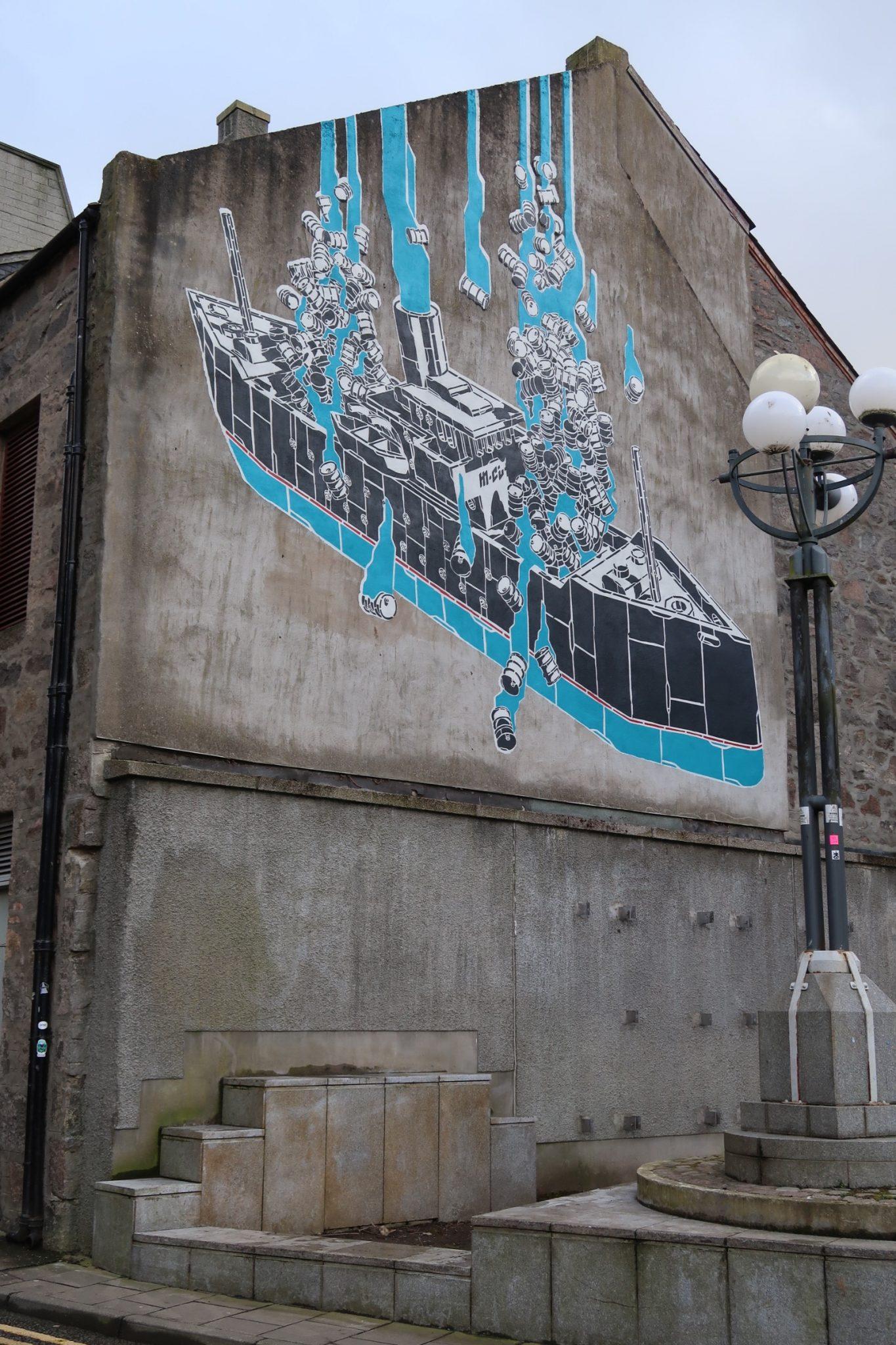 Nuart Aberdeen City Centre Street Art