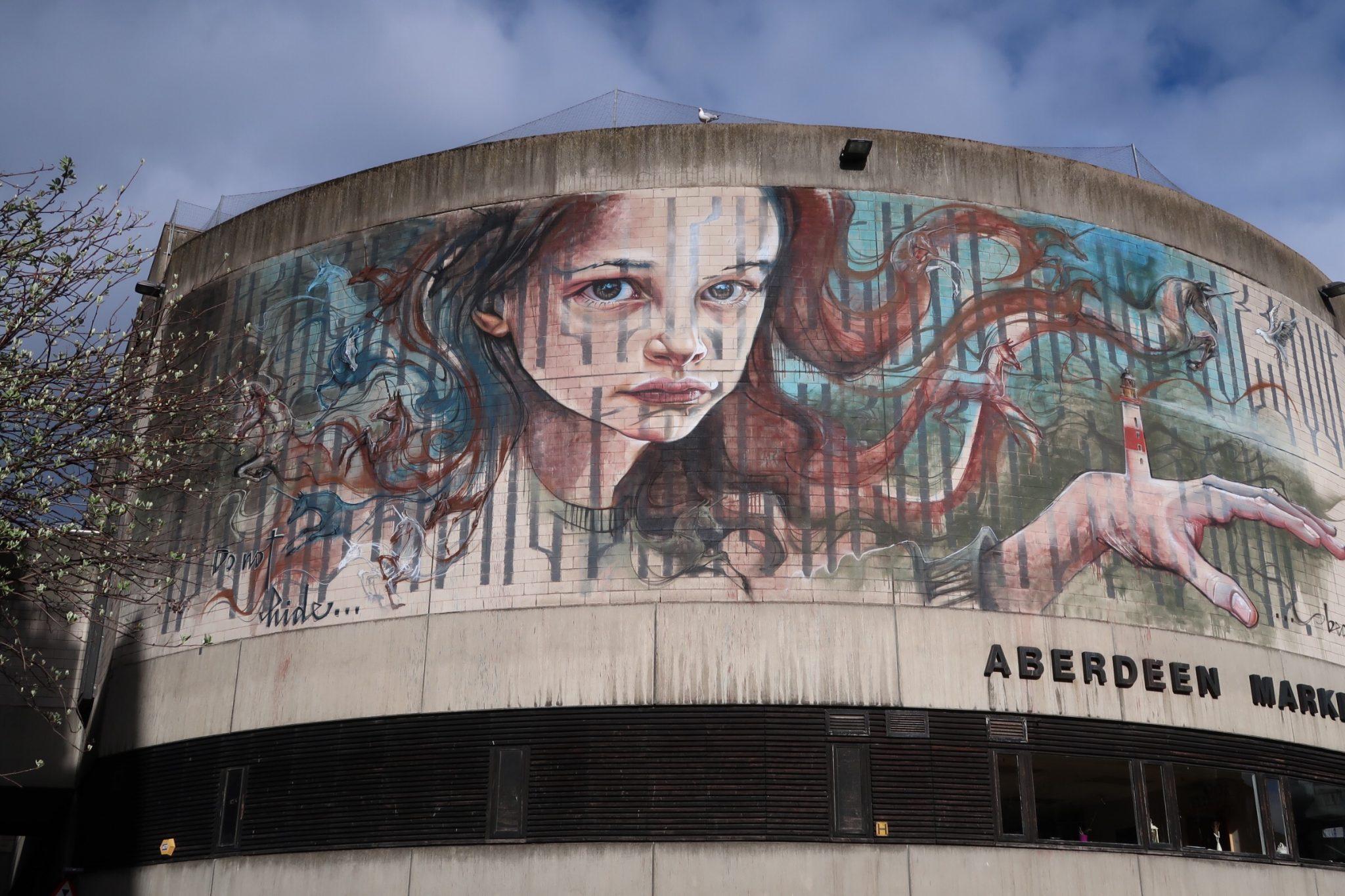 Nuart Aberdeen City Centre Street Art Aberdeen Indoor Market