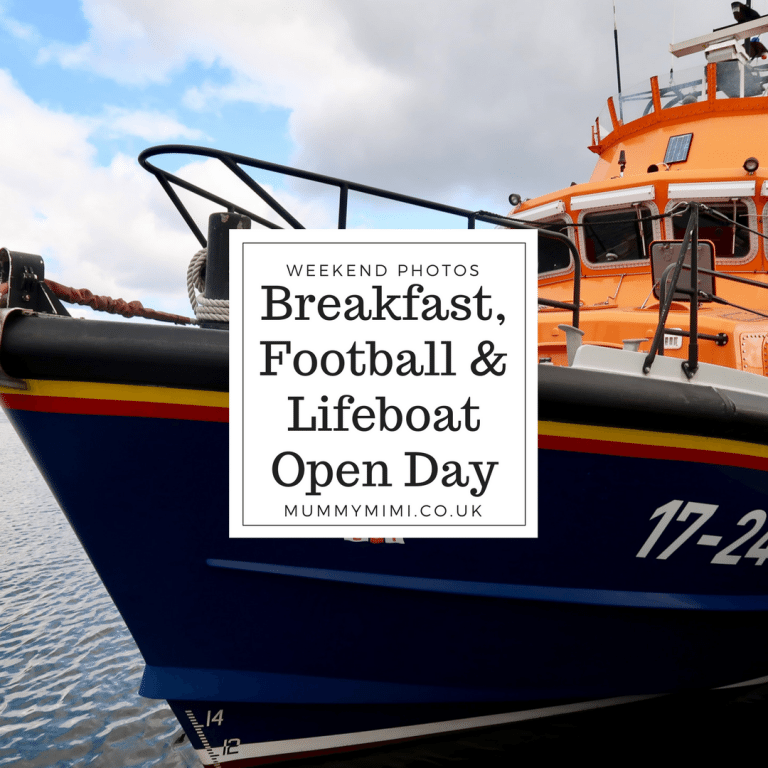 Weekend Photos & Vlog | Breakfast Trip, Football & Aberdeen Lifeboat Open Day