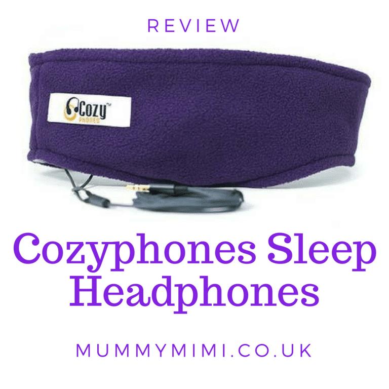 Review   CozyPhones Sleep Headphones