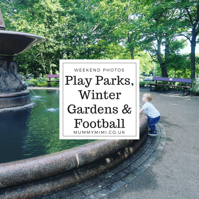 Aberdeen Family Weekend Photos & Vlog | Play Parks, Winter Gardens & Football Scotland Aberdeenshire Days Out Duthie Park