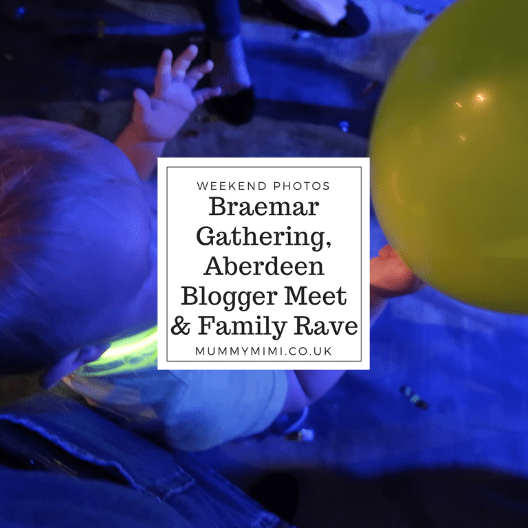 Weekend Photos & Vlog | Braemar Gathering, Aberdeen Blogger Meet & Family Rave
