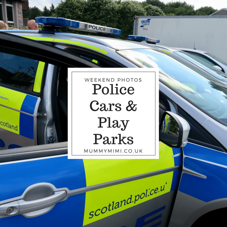Weekend Photos & Vlog | Police Cars & Play Parks