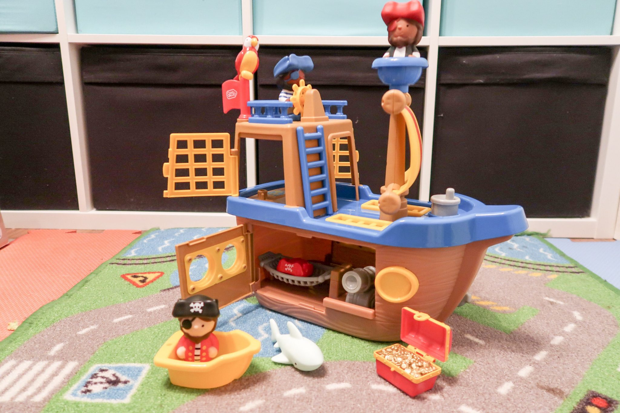 Argos Chad Valley Play Panel Tots Town Play Set Toys Pirate Ship