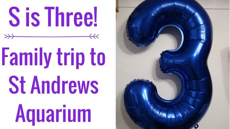 Vlog | S is Three!! | Family Day Trip to At Andrews Aquarium