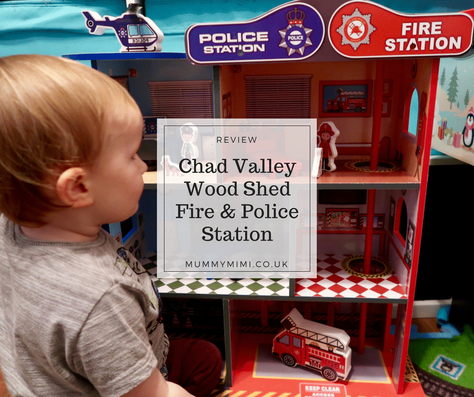 Review Chad Valley Wood Shed Fire Amp Police Station Toy