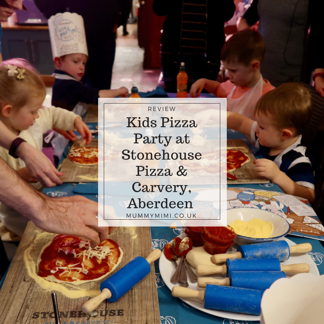 REVIEW: Kids Pizza Party at Stonehouse Pizza & Carvery, Aberdeen