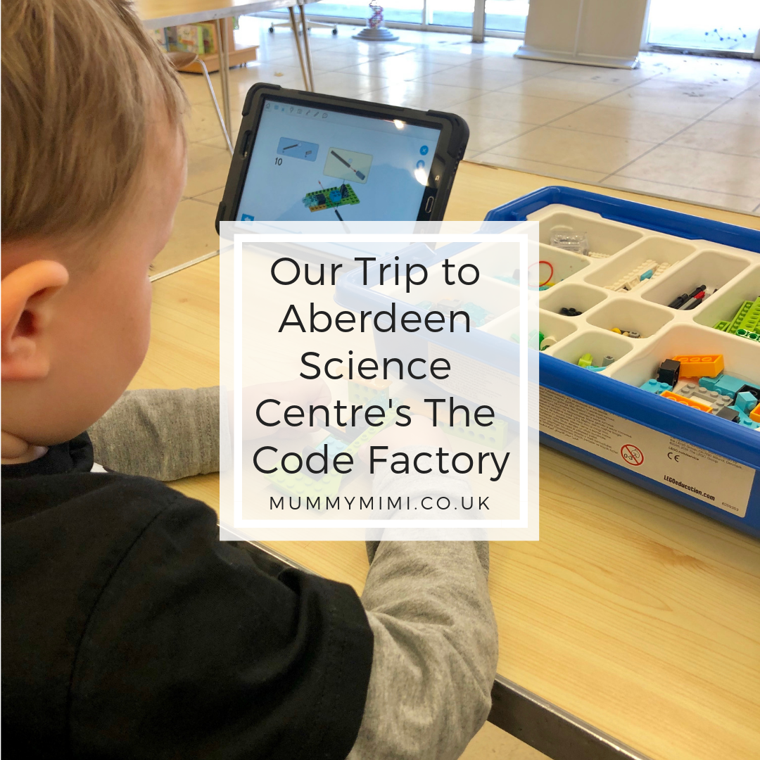 AD | Our Trip to Aberdeen Science Centre's The Code Factory