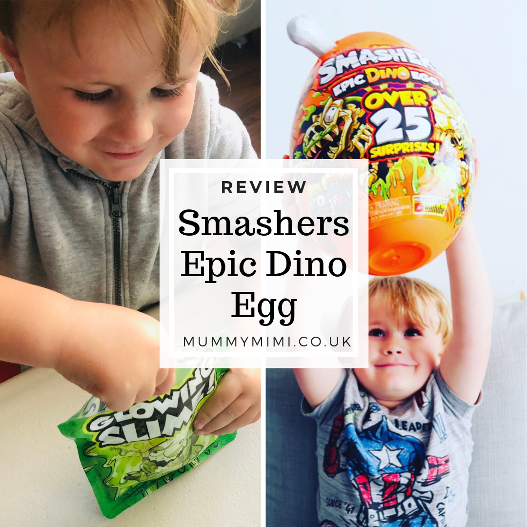 Review | Smashers Epic Dino Egg (Gifted)